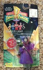Vintage Janex Mighty Morphin Power Rangers Squeeze Light Rita Repulsa NIB