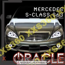 ORACLE Headlight HALO KIT RINGS for Mercedes Benz S-Class 07-09 WHITE LED