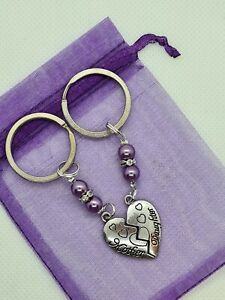 Mother Daughter Keyring, mothers day gift, gift for mum, gift for daughter