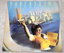 ROGER HODGSON SUPERTRAMP SINGER AUTHENTIC SIGNED VINYL RECORD ALBUM LP B w/COA