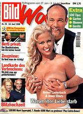 """Zeitschrift """"BILD-Woche"""" Nr. 25 v 1998, Cover Heiner Lauterbach und Jenny Elvers"""