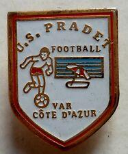 PINS FOOTBALL U.S. LE PRADET FRANCE VAR COTE D'AZUR DEPT 83 ORIGINAL VINTAGE