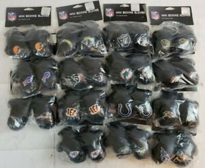 """4"""" Mini Boxing Gloves Rear View Mirror Auto Car Truck--Pick Your NFL Team A54.55"""