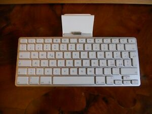 APPLE MACINTOSH TASTIERA DOCKING STATION IPAD KEYBOARD MOD A1359 VINTAGE
