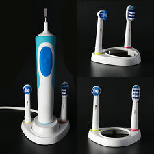 2Pcs Single Charger Toothbrush heads Holder Stand Compatible with Oral-B 2018