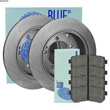 BLUE PRINT BREMSSCHEIBEN Ø232 mm + BREMSBELÄGE SET HINTEN VW POLO 1.2 TSI TDI