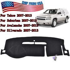 For GMC Yukon Sierra SLT Denali 1500 2007-2013 Dashboard Cover Dashmat Dash Mat
