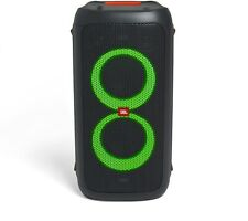 JBL Partybox 100 schwarz Bluetooth DJ Lautsprecher Karaoke Anlage MP3