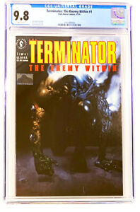 Terminator: The Enemy Within   #1   CGC  9.8   1991 White pages  NM / MT  Comic