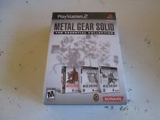Metal Gear Solid: The Essential Collection (Sony PlayStation 2). Brand New. PS2.