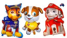 Paw Patrol Chase Marshall Rubble Supersize Foil Helium Balloon Party Decoration