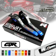 CNC Brake Clutch Levers Folding set Fit Honda CBR600/900929/954/1000RR CBR600F