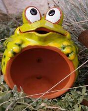 Impressionen Thermometer Frosch Rostoptik Garten Deko