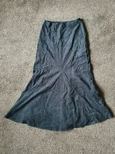 Long Black Vintage Corduroy Next Skirt Size 8 New With Tags