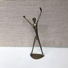 """GATCO San Francisco Brass Metal Nude Figurine Sculpture 9.25"""""""
