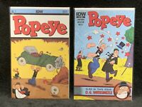 Popeye #1 AND #2, Action Comics #1 Cover Swipe/ Superman/ IDW/ Movie/ Williams