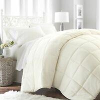 Comforter Set Cover Ultra Soft  Goose Down Alternative Comfort Premium