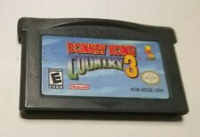 Donkey Kong Country 3 (Nintendo Game Boy Advance, 2005) -  AUTHENTIC