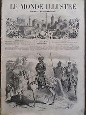 LE MONDE ILLUSTRE 1858 N 68  LE MAHARAJA JUNG BAHADUR RANA