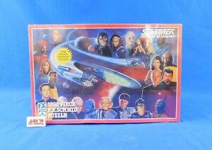 Star Trek The Next Generation TNG 1000 Piece Puzzle 1993 F.X. Schmid Sealed