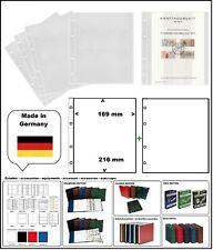 1 LOOK 304653 SAMMELHÜLLEN NUMOH 1C 169x216mm + ZWL-W Für ETB Ersttagsblätter