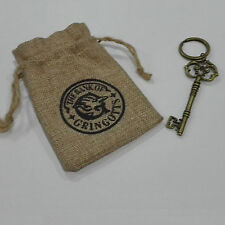 Gringotts Bank Wizarding Bank Key And Logo Sack 2Pcs Set Harry  HP Collectible
