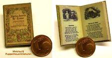 1019# Fabeln für Kinder - Nostaligebuch - Puppenhaus - Puppenstube - M1zu12