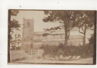St Denys Church North Killingholme Lincolnshire Vintage RP Postcard 500b