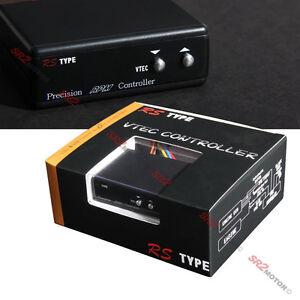 Compact Adjustable LCD Display Slim Black RPM VTEC Controller for Honda Acura