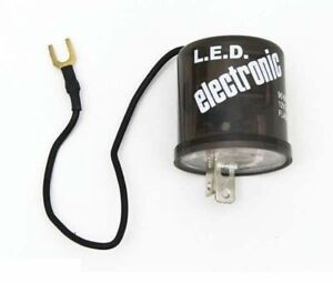2 Pin Prong Terminal Relay Electronic Flasher 12 Volt Led Turn Signal Light