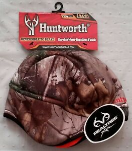 Huntworth - Camo Beanie | VICTOR | Large/XLarge | Reversible to Blaze | Durable