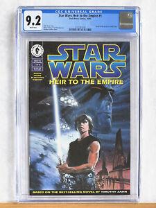STAR WARS Heir to the Empire #1 : CGC 9.2 : 1995 Dark Horse 1st Thrawn Mara Jade