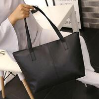 Women Ladies Leather Shoulder Bag Celebrity Tote Purse Travel Bag High-capacity