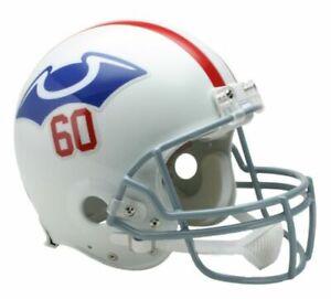 New England Patriots 1960 Throwback VSR4 Riddell Mini Helmet New in box
