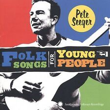 Folk Songs For Young People - Pete Seeger (2002, CD NEUF)