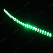 10 × Green 24cm 24LED PVC Flexible LED Strip Light Waterproof for Car Motorcycle