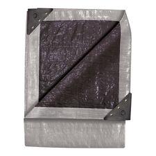 TEKTON 15 x 30 Double Duty Tarp - Silver/Black 6347 Tarp NEW