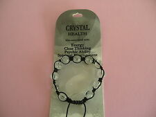 10MM SHAMBALLA GEMSTONE ROCK QUARTZ ( CRYSTAL ) BRACELET
