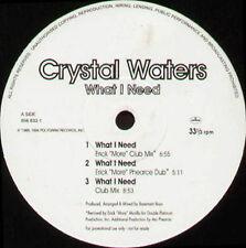 CRYSTAL WATERS - What I Need (Erick Morillo) - Mercury