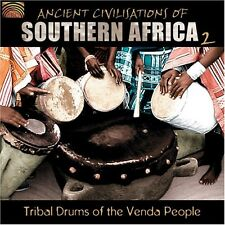 Ancient Civilization Of Southern Africa Vol. 2 - Tribal Drums Of (2006, CD NEUF)