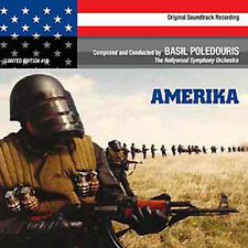 AMERIKA (PCD) Basil Poledouris SOUNDTRACK NEW
