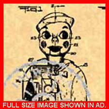 US Patent Granted for a VENTRILOQUIST DUMMY #115.4