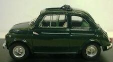 BRUMM 1:43  DIE CAST AUTO FIAT NUOVA 500D APERTA 1960 VERDE SCURO   R404-10
