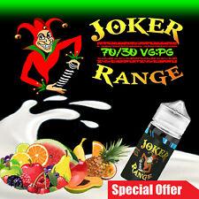 E LIQUID 10X10ml Premium Vape Juice 70VG/30PG 0mg 3mg 6mg 8mg, TPD Compliant -UK
