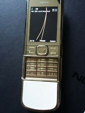 Nokia 8800 Gold Golden Arte Sim Free 3G GSM Mobile Phone 4GB UK EU RU Full Boxed