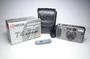 Yashica T4 Zoom 35mm Point and Shoot Film Camera #026400