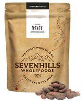 Sevenhills Wholefoods Organic Raw Cacao Beans   Chocolate Detox