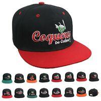 MEXICO Baseball League Cap Mexican Flat Bill Snapback Sports Team Dad Visor Hat