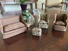 lot 1:12 dollhouse furniture room items, New