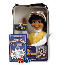 Bonus Bundle! Lester Ventriloquist Dummy Doll - New!